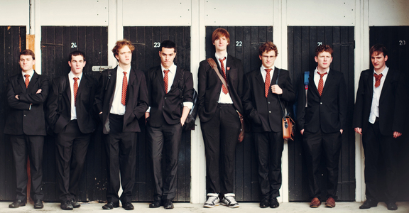 History boys website banner